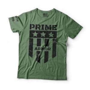 Prime Armor's T-shirt