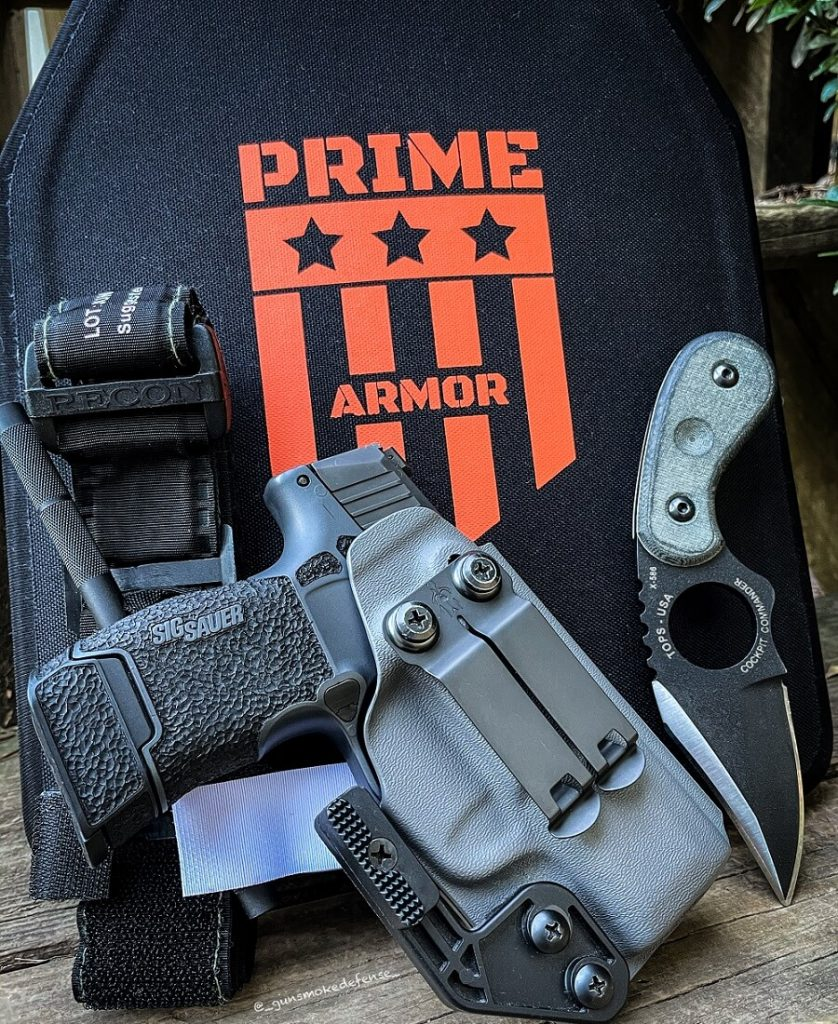 how does body armor work