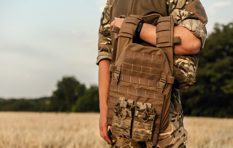 how to clean body armor